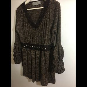 Sweater boho, fall festival, cool beach nights